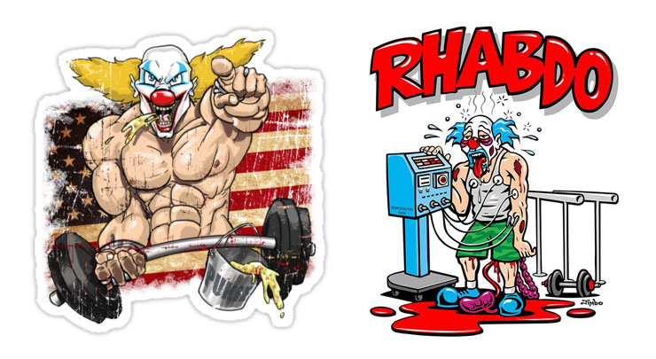 CrossFit's Pukie the Clown and Uncle Rhabdo