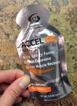 Accel gel with protein