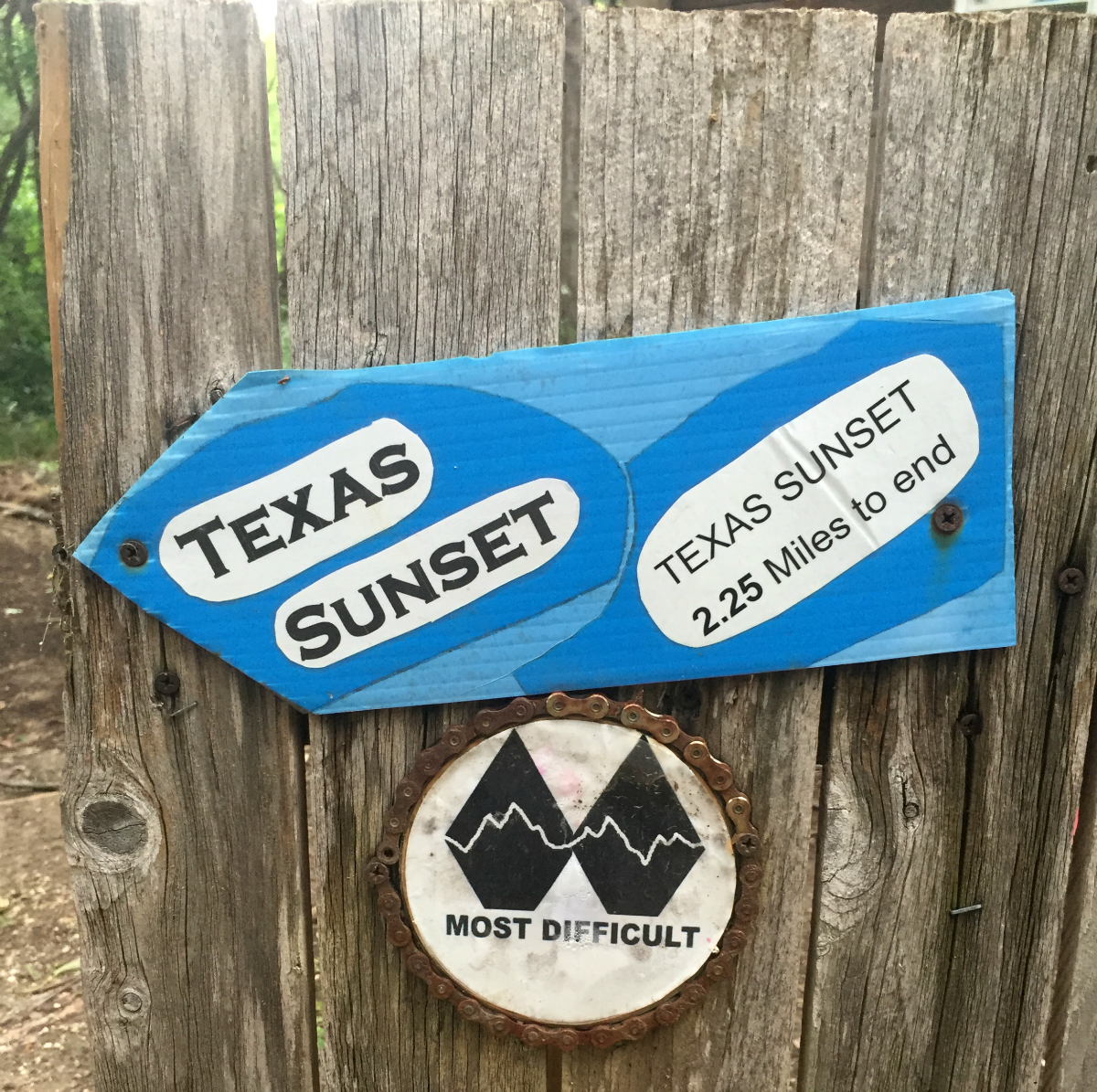 Texas Sunset trail at Big Cedar