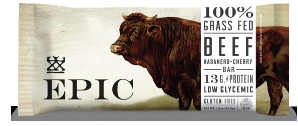 Epic Beef Habanero Cherry Protein Bar
